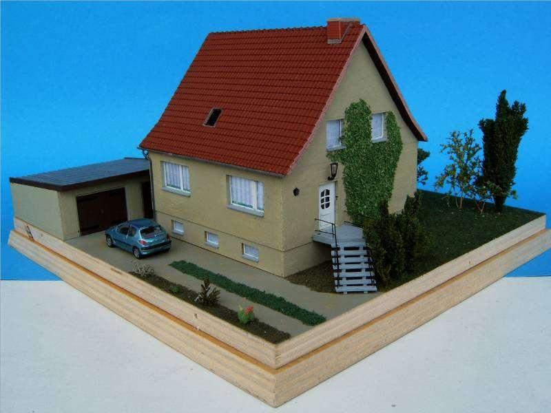 Haus EW 65 Diorama - Modellbau Community Dioramen bauen