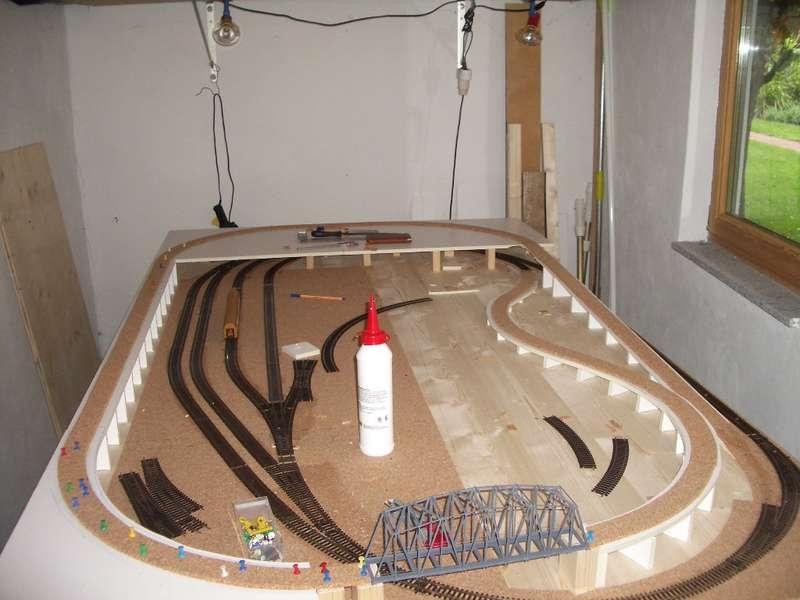 bau einer kompaktanlage 1 modelleisenbahn modellbau. Black Bedroom Furniture Sets. Home Design Ideas