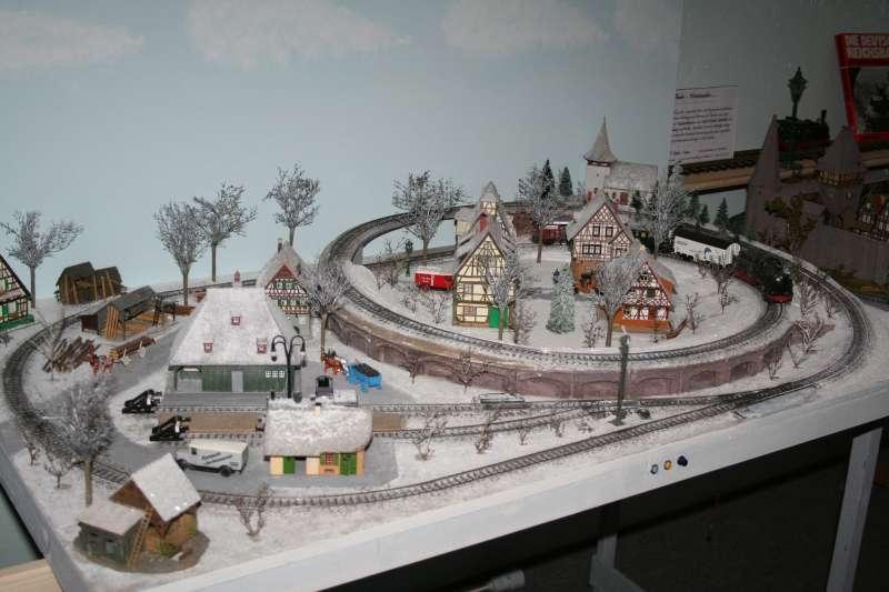nostalgie winteranlage modelleisenbahn modellbau. Black Bedroom Furniture Sets. Home Design Ideas
