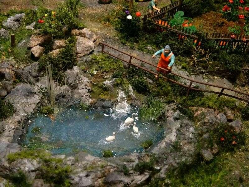 Schwarzwaldhaus diorama modellbau community dioramen bauen - Beleuchtete kuchenruckwand selber bauen ...