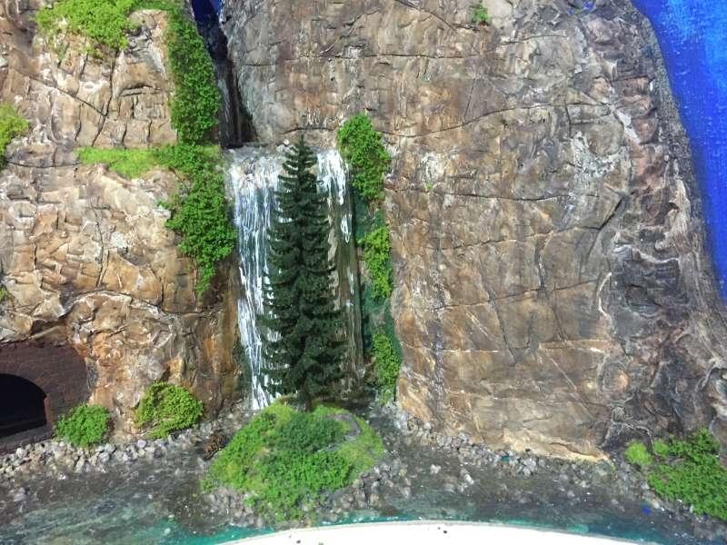 Wasserfall diorama modellbau community dioramen bauen - Wasserfall bauen ...