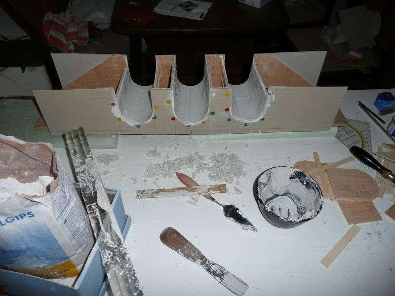 Viaduktbau 4122 Steine Ritzen In 782 Minuten Diorama Modellbau