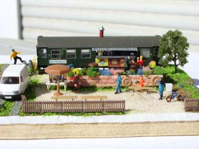 Imbiss Selber Bauen imbiss und altglas diorama modellbau community dioramen bauen