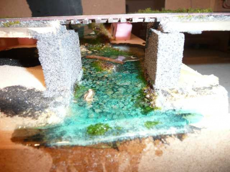 bachlauf mit wasserfall diorama modellbau community. Black Bedroom Furniture Sets. Home Design Ideas