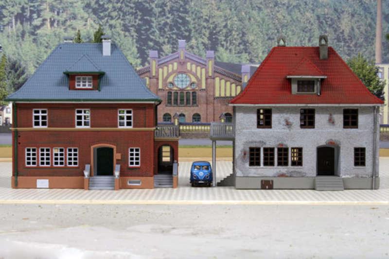 Mit geringen aufwand ein individuelles haus aus einem for Modellhaus bauen