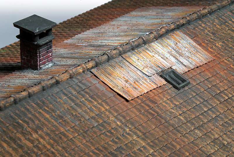 Metal Roofs Materials Rust And Dirt Basteltipp