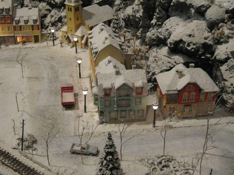 Winter Im Schaufenster Modelleisenbahn Modellbau