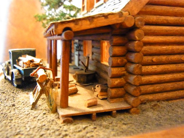 luckytown oder mein blockhaus in 1 87 teil 1 diorama modellbau community dioramen bauen. Black Bedroom Furniture Sets. Home Design Ideas