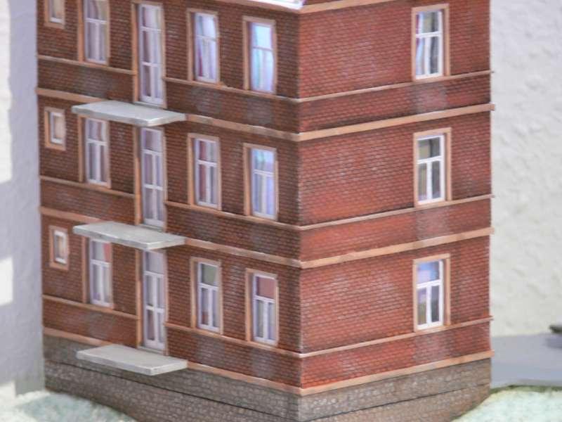 hausbau schritt f r schritt diorama modellbau community dioramen bauen. Black Bedroom Furniture Sets. Home Design Ideas